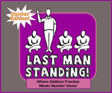 Addition Practice + Number Sense + Luck = Last Man Standin