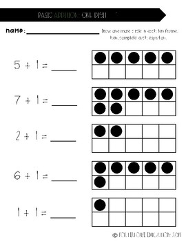 Addition Practice Packet