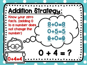 Addition Practice Within 10: Knowing Zero Facts