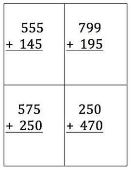 Addition Practice Worksheets