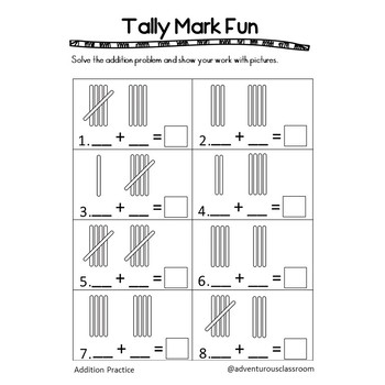 Addition Practice Worksheets