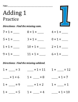 Addition Practice and Quiz Sheets for the Addends 1 through 12
