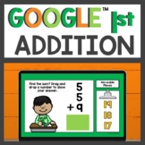 Addition Practice for Google Classroom™ for Distance Learning