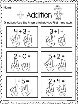 Addition Print & Practice BUNDLE
