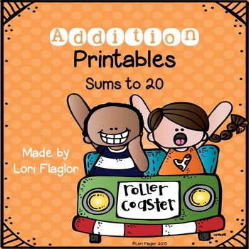 Addition Printables- Sums to 20