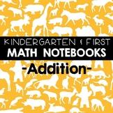 Math Journals: K-1 Addition