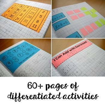 Math Notebooks: K-1 Addition