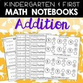 Math Journals: Addition Printables for K-1