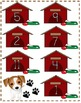 Addition Problem File Folder Game (DOG THEME)