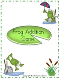 Addition Problem File Folder Game (FROG THEME)