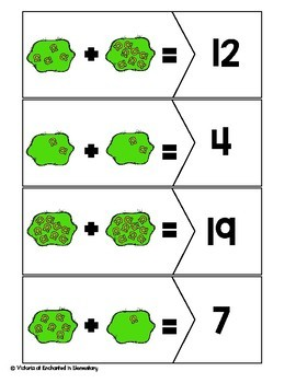 Addition Puzzles: St Patrick's Day Set
