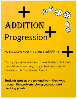 Addition Progression Test