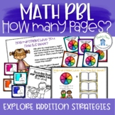 Addition Problem Based Learning How Many Pages Have You Read? PBL