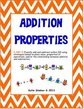 Addition Properties (Associative, Commutative, Identity)