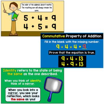 Addition Properties Bundle