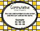 Addition Properties: Commutative, Associative, Identity