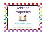 Addition Properties - Commutative, Associative, and Zero