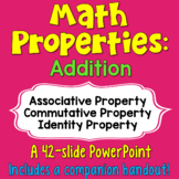 Addition Properties PowerPoint