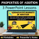 Properties of Addition PowerPoint Lesson