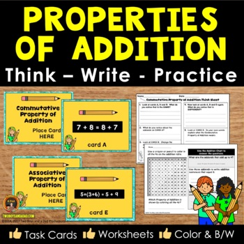 Properties of Addition Critical Thinking