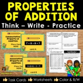 Properties of Addition Think Write Practice with Critical
