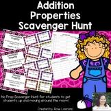 Addition Properties Scavenger Hunt