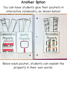 Addition Properties Sorting Activity