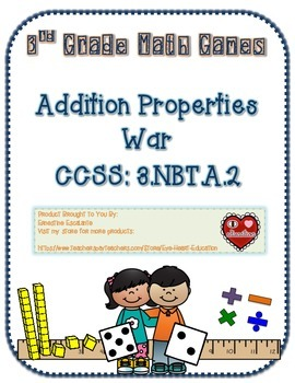 Addition Properties War Game 3.NBT.A.2