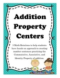 Addition Property Math Centers