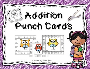 Addition Punch Cards
