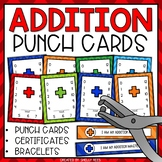 Punch Cards for Addition Fact Mastery
