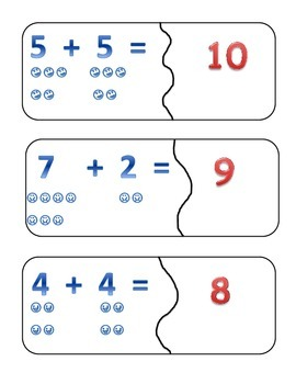 Addition Puzzle 2-20