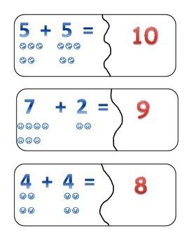 Addition Puzzle 2-20