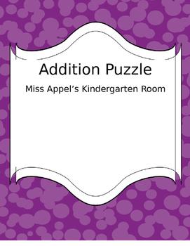 Addition Puzzle (6-10)
