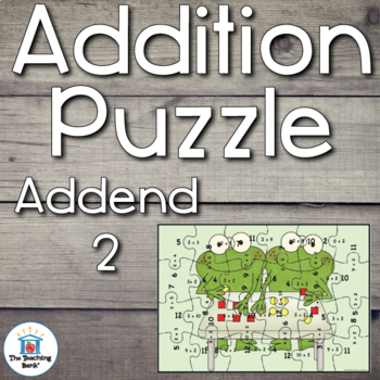 Addition Puzzle for Addend 2
