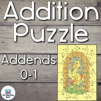 Addition Puzzle for Addends 0 and 1
