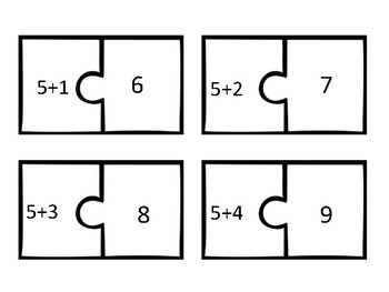 Addition Puzzles +0-12