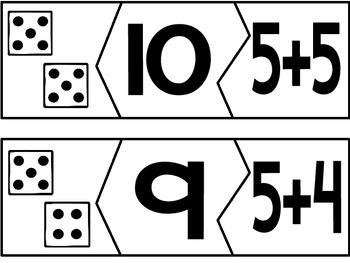 Addition Puzzles to 10