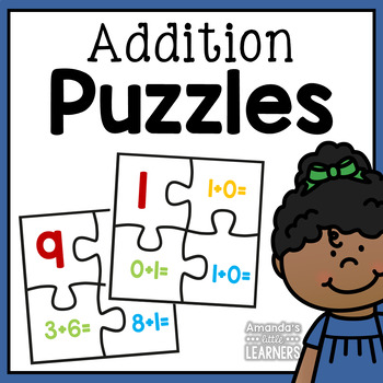 Simple Addition Equation Puzzles