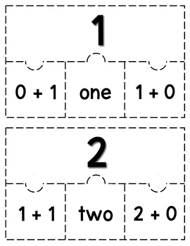 Addition Puzzles: A Math Game