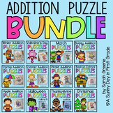 Addition Puzzles ALL YEAR LONG!