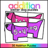 Addition Puzzles - Addtion up to 10