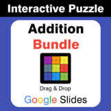 Addition Puzzles with GOOGLE Slides Bundle