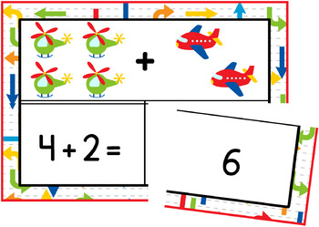 Addition Puzzles (within 10)