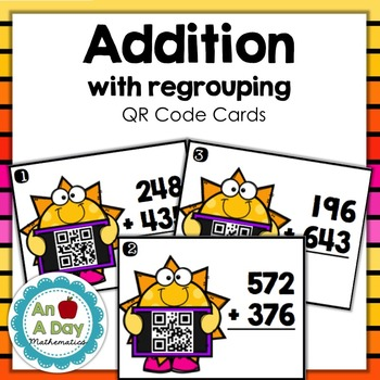 Addition QR Code Cards {Teacher Appreciation Week Freebie}