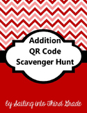 Addition QR Code Scavenger Hunt