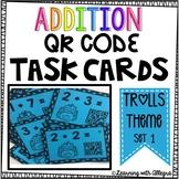 Addition QR Code Task Cards {Set 1}