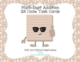 Addition QR Code Task Codes-With and Without Regrouping