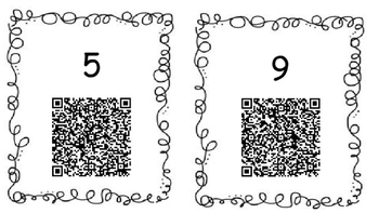 Addition QR Scavenger Hunt