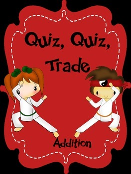 Addition Quiz, Quiz, Trade Review Game